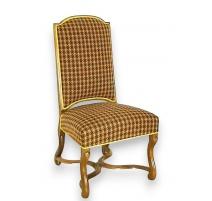 Paire de chaises Louis XIV en noyer