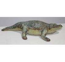 Crocodile en fonte