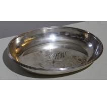 Coupe ovale en argent par MAPPIN & WEBB