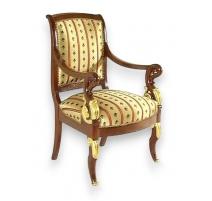 Armchair of style Restoring mahogany