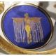 Coupe à anses en porcelaine de Perlam