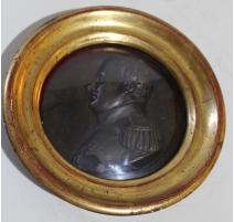 Portrait rond de Napoléon Ier