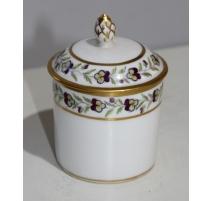 Pot couvert en porcelaine de Nyon