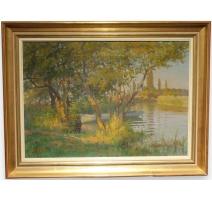 Tableau de Vincent GILLIAND (1884-1942)