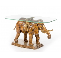 Table basse en forme d'éléphant
