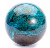Sphère chrysocolle d'Arizona