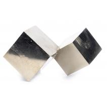 Double cube de pyrite