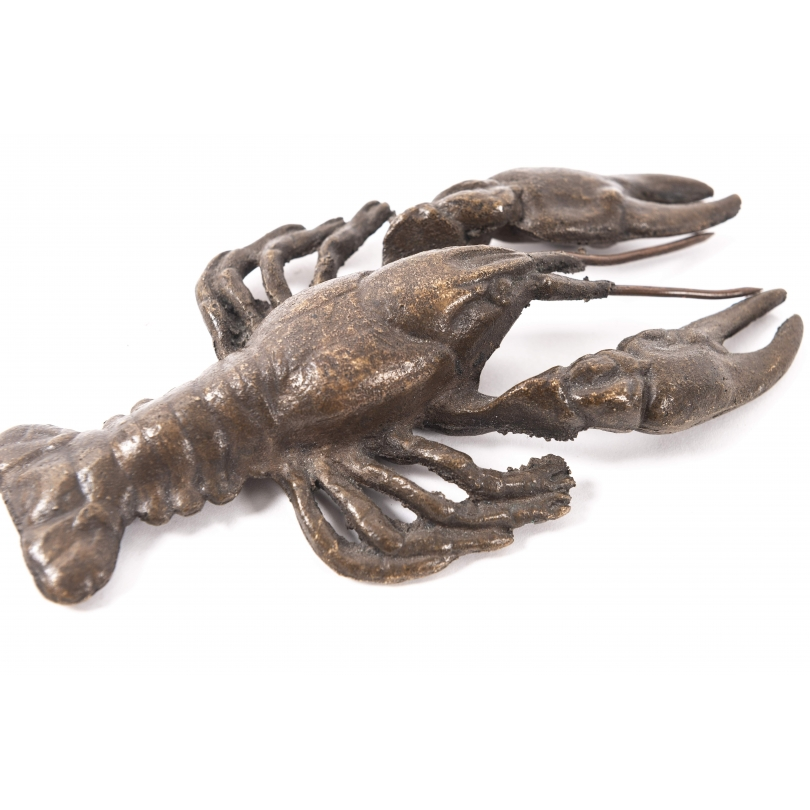 Ecrevisse en bronze