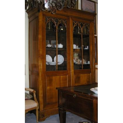 biblioth que louis philippe sur moinat sa antiquit s d coration. Black Bedroom Furniture Sets. Home Design Ideas