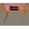 Console Shanghai à 4 tiroirs en bois et inox