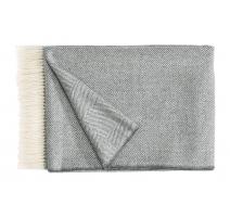 Plaid Noble en laine d'Alpaga gris