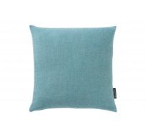 Coussin Puro en laine d'Alpaga coloris Bleu Fjord