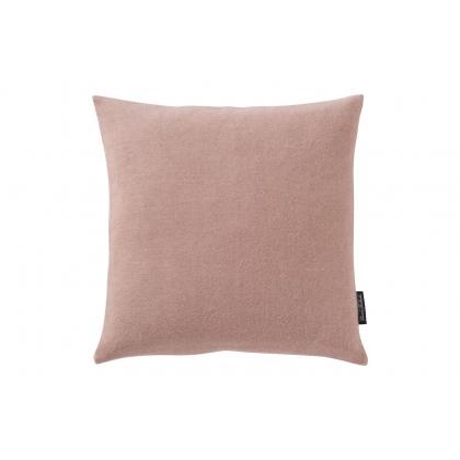 Coussin Puro en laine d'Alpaga coloris Vieux rose