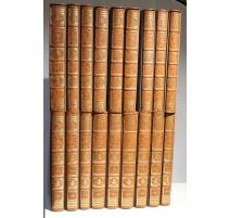 Recueil de planches sur les sciences, 18 volumes