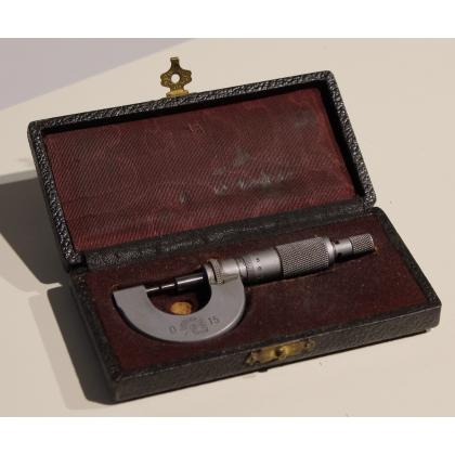 Micromètre PRÄSIZION FALKE 0-15