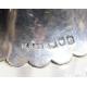 Carafe en cistal taillé avec monture en argent