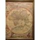 Carte du monde d'après Joanem Baptistam Vrient