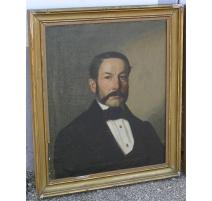 Tableaux portrait Homme signé CAVALLI mai 1862
