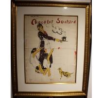 """Projet d'affiche """"Chocolat Suchard"""" par O.VAUTHIER"""