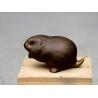 Hamster en bronze d'après HAINARD