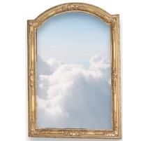 Miroir Régence au mercure.