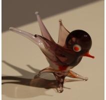 Oiseau en verre de Murano
