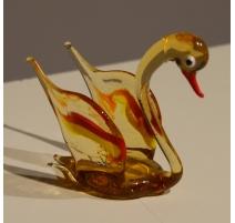 Cygne en verre de Murano