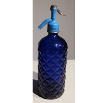 Siphon en verre bleu MASSAVEU