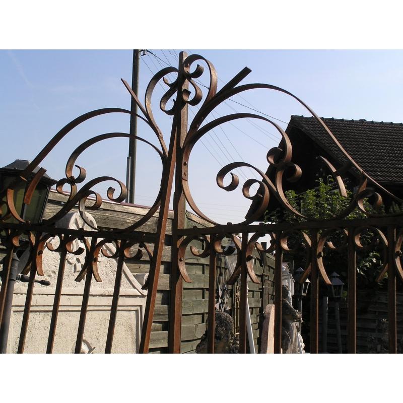 Portail 2 vantaux sur moinat sa antiquit s d coration - Portail a vantaux ...