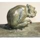 """Bronze """"Deux babouins"""" signé G. RIGHETTI"""