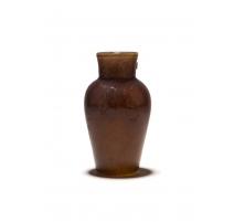 Vase balustre en verre multicouche signé E GALLÉ