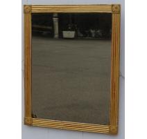 Miroir Empire Bernois en bois doré