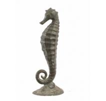 Hippocampe en bronze
