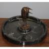Vide poche marabout en bronze, coupe en marbre