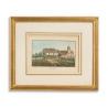 """Gravure """"Montet"""" signée J. WEIBEL 1827"""