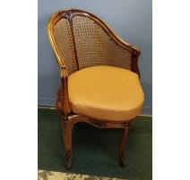 Fauteuil de bureau de style Louis XV