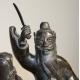 "Bronze ""Toba on his mule"""