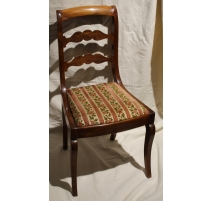 Set of 6 Louis-Philippe chairs