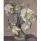 """Tableau """"Fleurs blanches"""" signé L. SALZMANN 38"""
