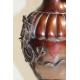 """Paire de vases chinois en bronze """"Dragons"""""""