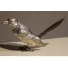 Pie en argent avec ailes articulées