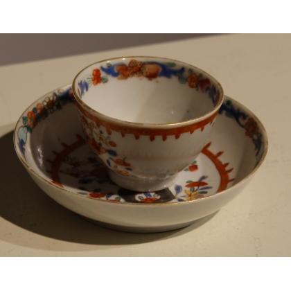 Tasse en porcelaine chinoise orange