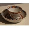 Tasse en porcelaine chinoise orange