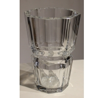 Grand vase en cristal de Baccarat, modèle Edith