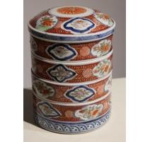 Boite à picnic ronde en porcelaine