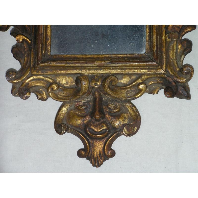 Petit miroir sur moinat sa antiquit s d coration for Miroir petit