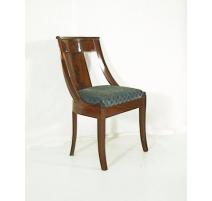 Paire de chaises Gondole Empire.
