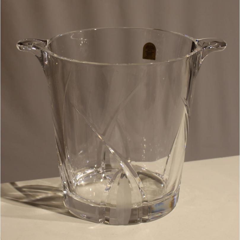 Seau à glace en cristal taillé par DA VINCI