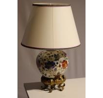 Lampe boule en porcelaine chinoise