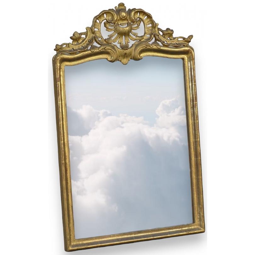 miroir louis xv sur moinat sa antiquit s d coration. Black Bedroom Furniture Sets. Home Design Ideas